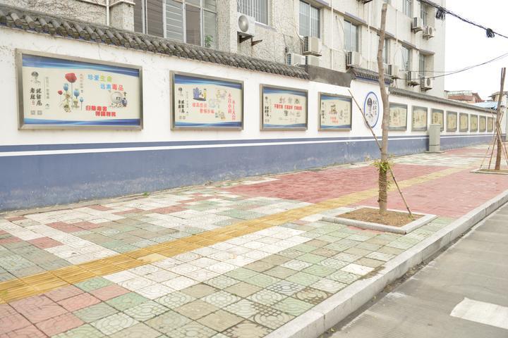 围墙宣传栏图片