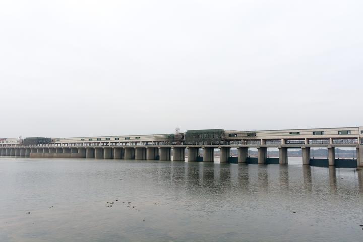 兰溪市姚家枢纽开始蓄水调试