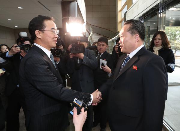 更新|朝韩或下周就朝鲜参奥细节会谈 涉国旗国歌等内容