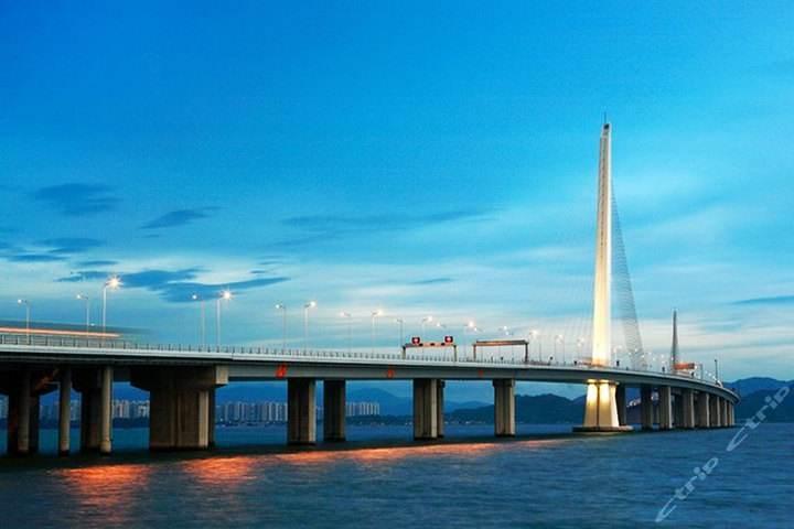 """厉害了! 宁波要""""养""""世界最长跨海大桥——港澳珠大桥图片"""