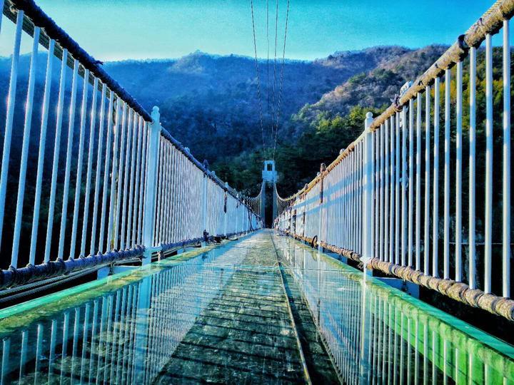 灵江源玻璃桥.图片