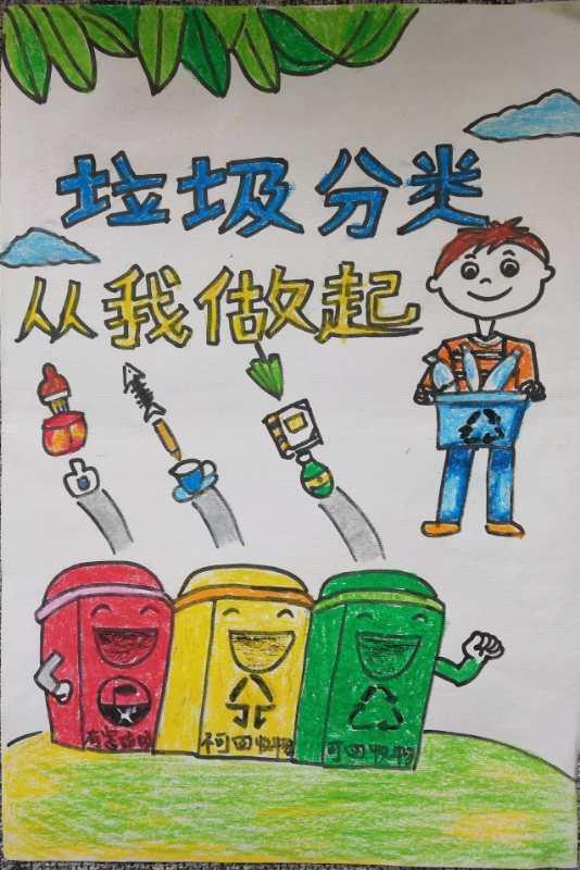 嘉兴生活垃圾分类公益宣传画展示第①期