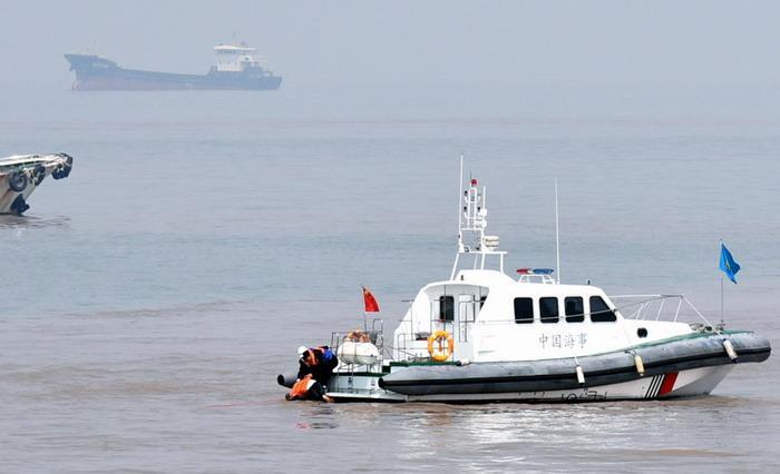 舟山两船舶碰撞沉没 5名落水船员安全获救