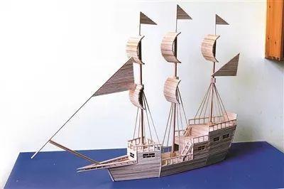 筷子手工制作船步骤