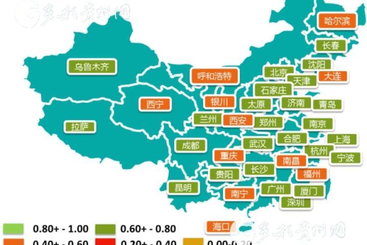 杭州,上海等5个城市综合网络安全状况最好