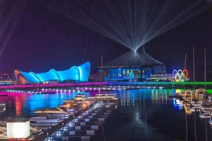 上合青岛峰会主要场馆的华丽变身 原来有浙商助攻