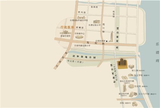 本图为手绘示意图,具体以官方公布的地图为准.