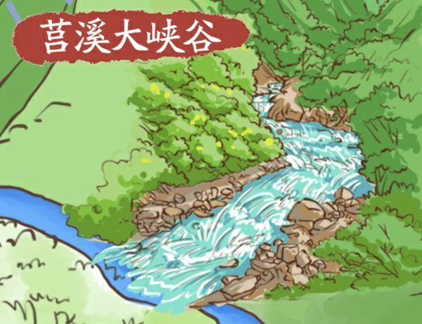 速速收藏!苍南全域旅游超萌手绘地图新鲜出炉啦!