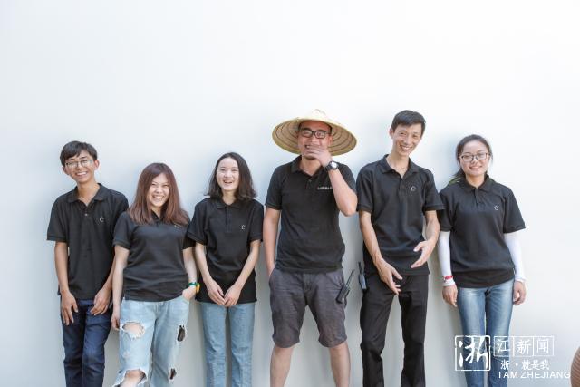 大乐之野·绿之墙年轻的管家团队.通讯员 唐徐国 摄图片
