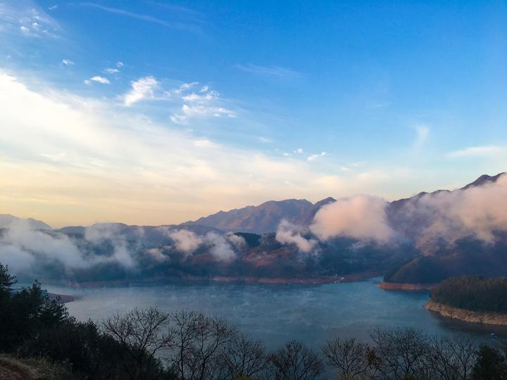 遂昌县仙霞湖风景