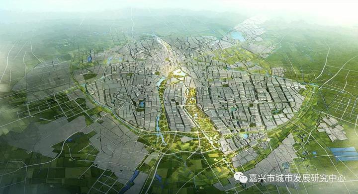 生态大廊道作为城市中轴,促进城田相融,契合城市风道,降低热岛效应.