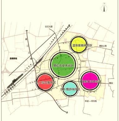 """将成省级旅游度假区  规划构建""""一带一环五区""""的功能空间结构."""