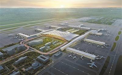 候机场设计效果图
