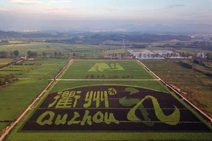 衢州风景简笔画