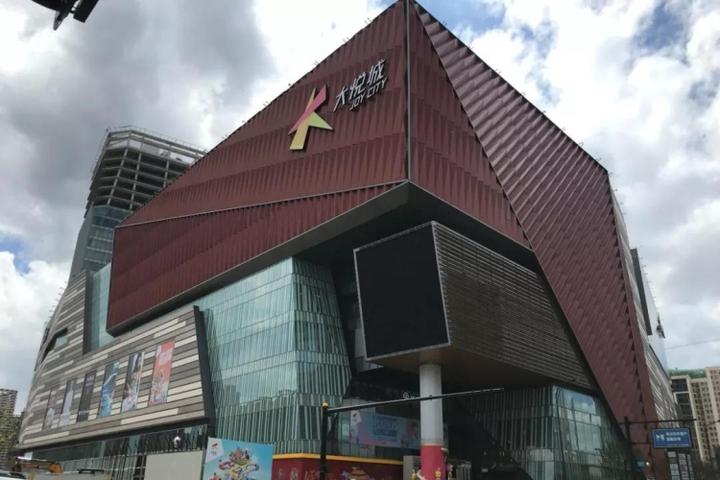 杭州首座大悦城开门!molly主题展,五层飞梯,室内动物园
