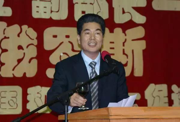 2012年5月28日,虞安林在俄罗斯中国和平统一促进会第三届就职典礼上