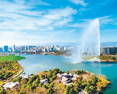 衢州信安湖水利风景区  浙江旅游局信息中心供图