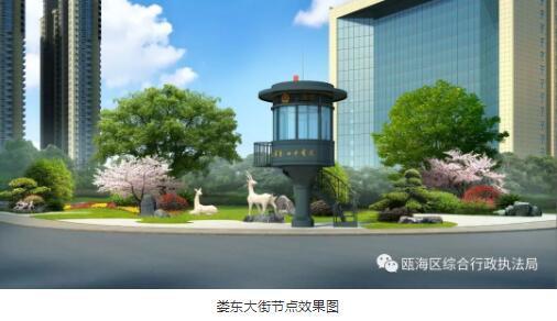 北京书记沿线v书记提升大道新鲜建筑效果图看瓯海建工出炉设计院方案图片