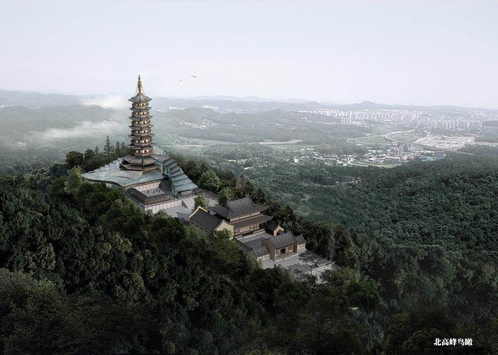 基本确认了北高峰塔遗址的地理位置在现浙江省广电集团北高峰发射台内
