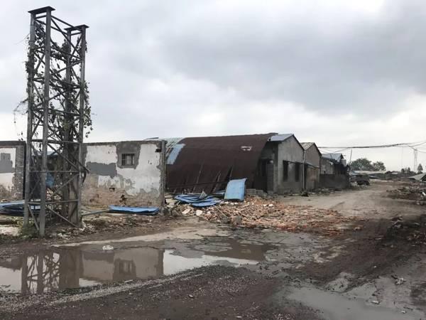 宁波海曙今年体量最大违建被拆除,占地面积3万平方米