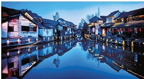 浙江湖州古镇风景区