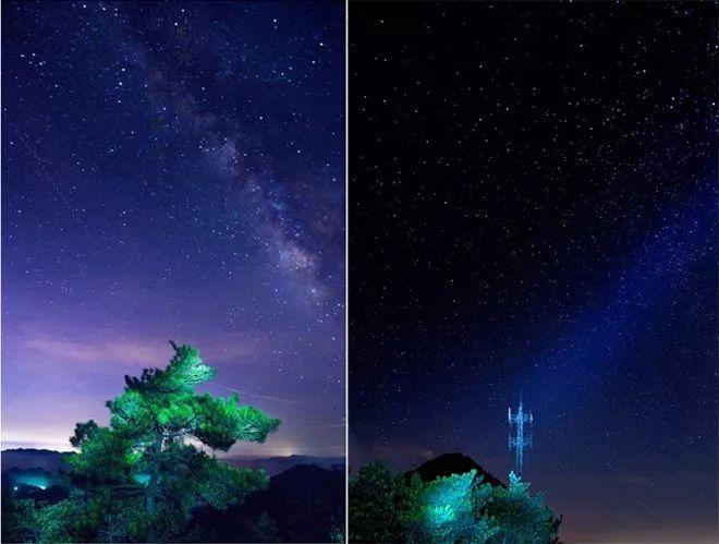 江西山群山风景