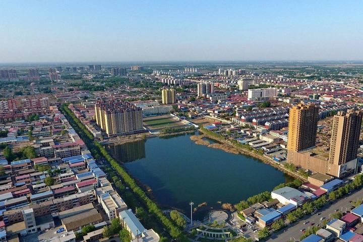 大圩雄村速写风景