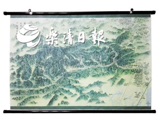 《雁荡山全景手绘图》再添新风景 第3版即将出炉