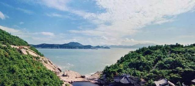 区)台州这两个地方入选  桃花岛位于舟山群岛东南部,与海天佛国普陀山