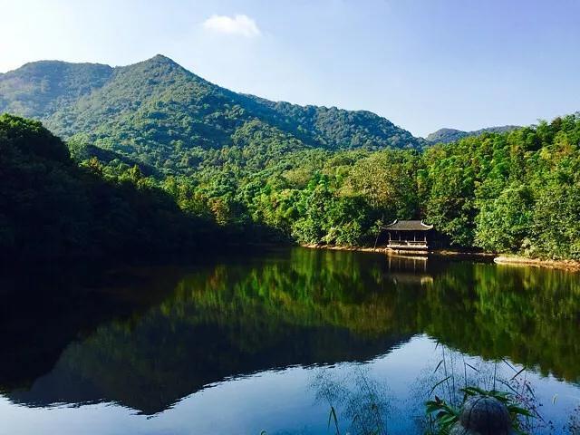 杭州半山国家森林公园龙山水库