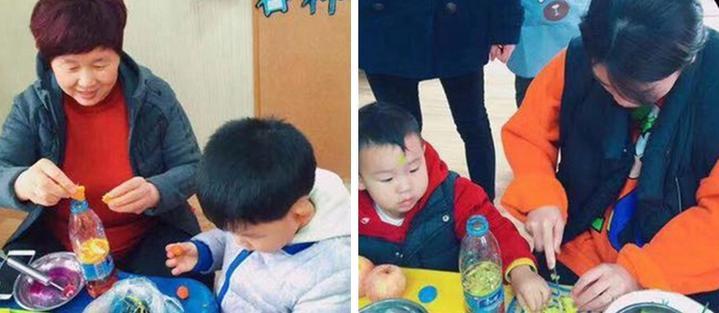 幼儿园大班手工制作矿泉水瓶盖图片