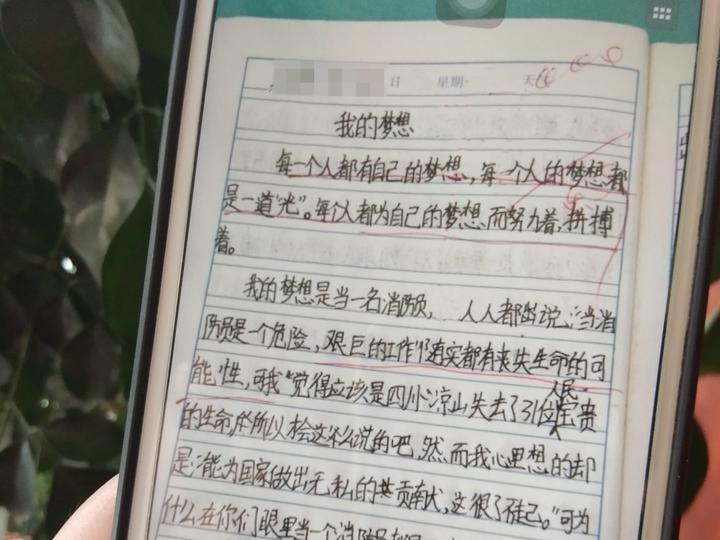 小吴的作文《我的梦想》
