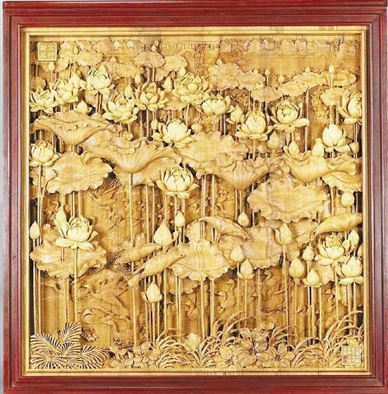 丝路主题东阳木雕曾惊艳国博 陆光正:雕出时代光华图片