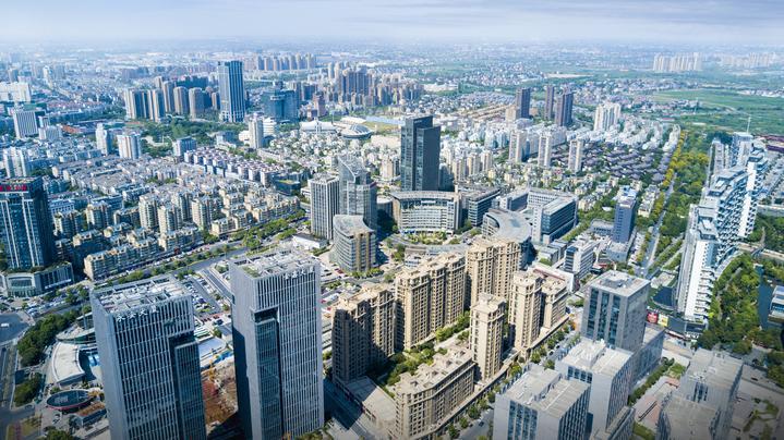 余杭丨临平新城加速建设现代化科技新城