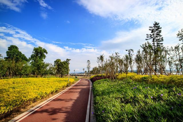 湖州市今年计划完成绿道建设50公里,串联起沿途自然景观和人文景观,让