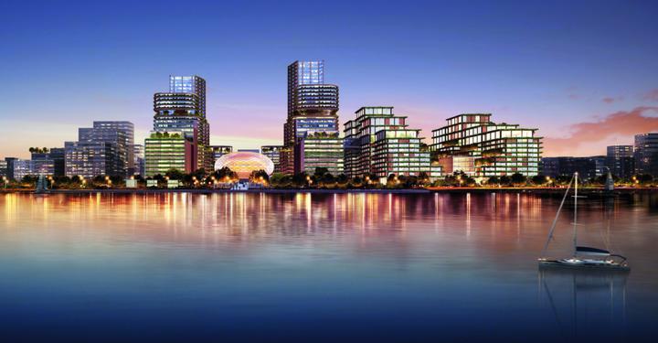 一个城市阳台 钱江新城2.0最新规划来了