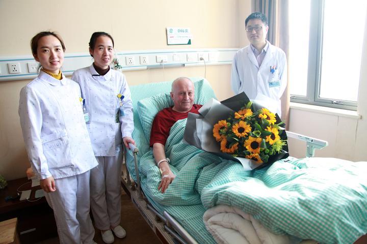 乌克兰工程博士致谢北仑医院 为宁波医疗点赞