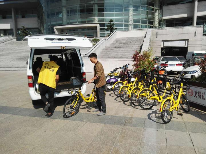温州近6万辆共享单车违停被处置 市民提出管理