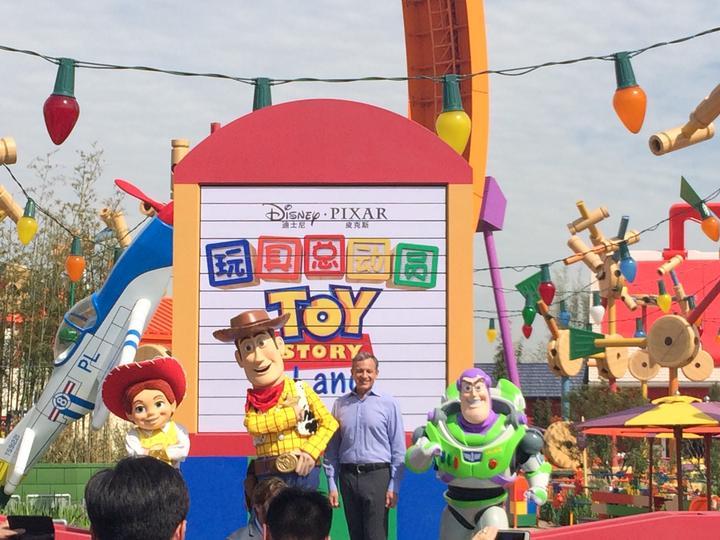 """澳门金沙手机版:上海迪士尼新增""""迪士尼玩具总动员""""主题园区"""