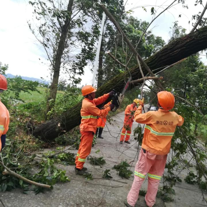 瑞安公路部门做好应急抢险工作,最大限度减轻灾害损失
