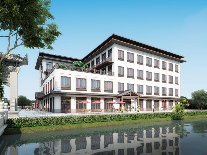双浦镇灵山游客接待旅游综合服务体开建