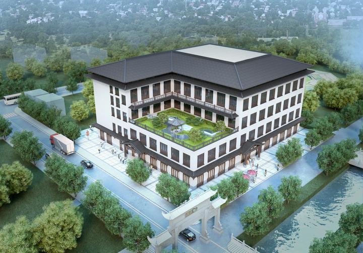 双浦镇灵山游客接待旅游综合服务体开建2