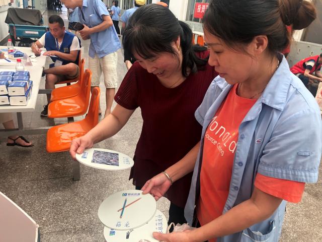 凝聚红力量 共织连心网 平湖志愿服务走进企业微网格