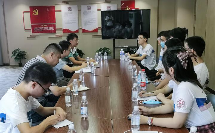 上海交大电院团委组织部实践团赴浙江省地震局开展调研