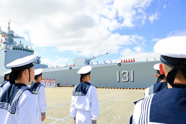 第35批护航编队凯旋(吴炜权摄) (7).JPG